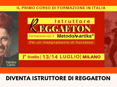 Corso Istruttore Reggaeton Formazione MetodoMartika