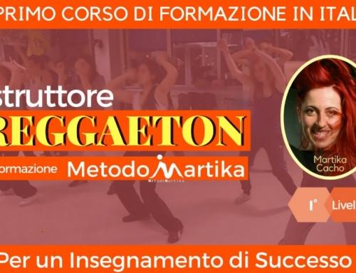 Istruttore Reggaeton I° Livello Programma Formazione MetodoMartika