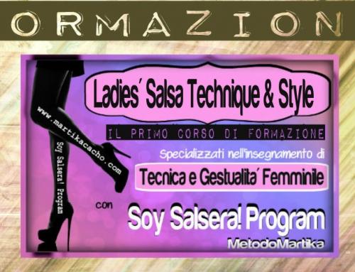 LADIES' SALSA TECHNIQUE & STYLE – Corso di formazione
