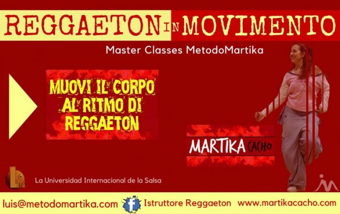 Reggaeton in Movimento Master Class