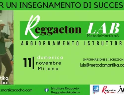 Aggiornamento Istruttori Reggaeton LAB MM
