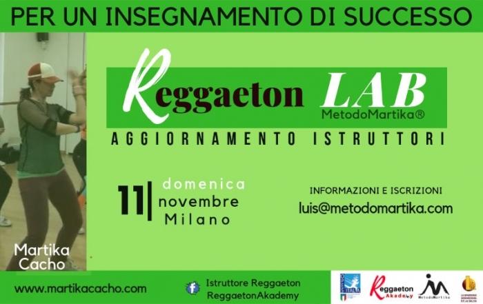 Aggiornamento Istruttori Reggaeton