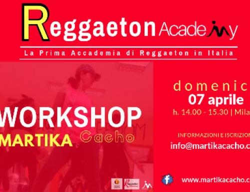 Reggaeton Academy Milano Workshop
