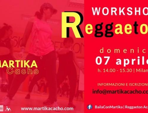 Reggaeton Milano Stage con Martika