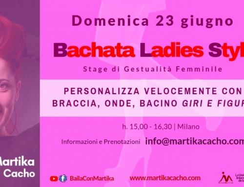 Bachata Lady Style Stage di Gestualità Milano